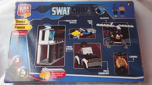 Block Tech Swat Squad-230 Building Blocks