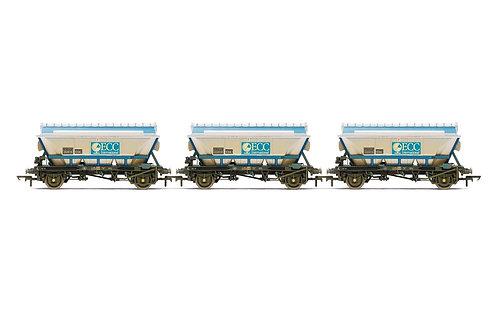 R6964 ECC, CDA Hoppers, weathered, three pack - Era 8