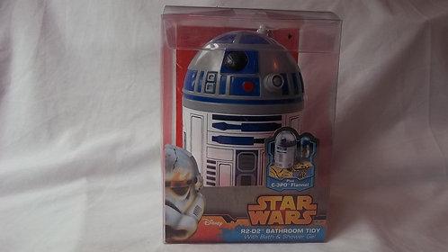 Star Wars R2D2 Bathroom Tidy/Shower Gel & Flannel