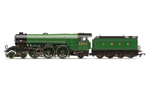 R3990 LNER A1 Class No.2547'Doncaster'(diecast footplate & flickering firebox)