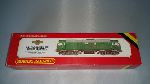 R080 (DCC Fitted) Hornby BR CLASS 29 DIESEL GREEN (Pre-Owned)