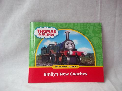 Thomas THe Tank Engine Book-Emily's New Coaches