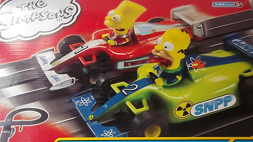 The Simpsons Micro Scalextric 1:64 Scale Age 3+