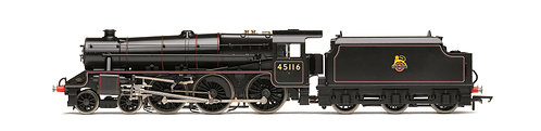 BRAND NEW HORNBY R3385 TTS Sound BR Early Black 5 Class Loco No.4 OO Gauge