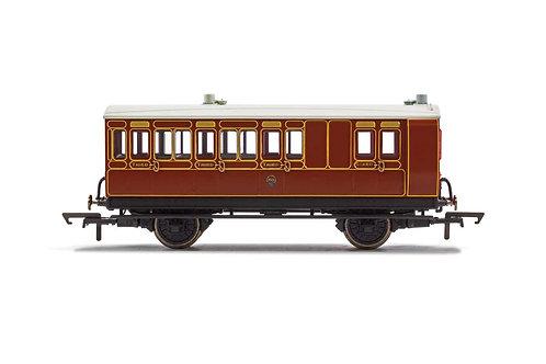 R40071 LB&SCR 4 Wheel Coach Brake 3rd Class 941 - Era 2