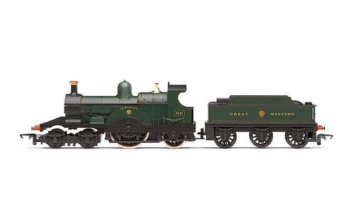R3759 GWR, Class 3031 'Dean Single', 4-2-2, 'Achilles' - Era 2