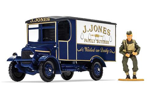Dads Army TV Series - J. Jones Thornycroft van and Mr Jones Figure