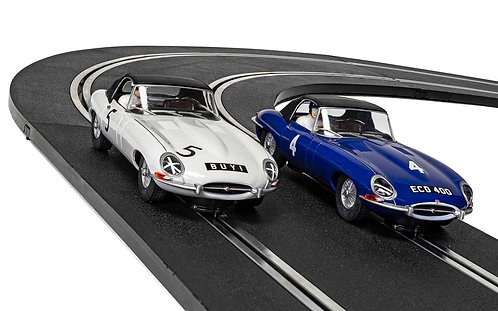 C4062A Jaguar E-Type First Race Win 1961 - Twin Pack - Limited Edition