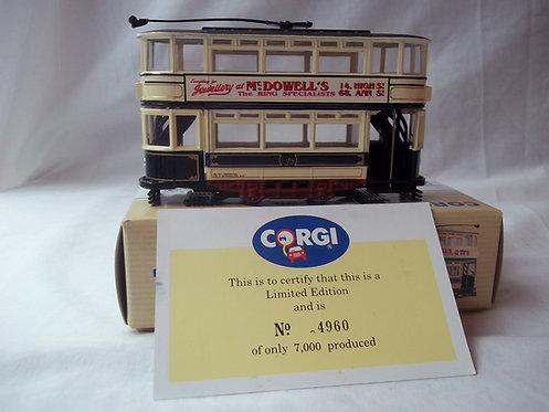 Corgi Double Deck Tram Belfast Ardoyne 97265