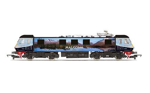 R3924 Malcolm Rail, Class 90, Bo-Bo, 90024 - Era 11
