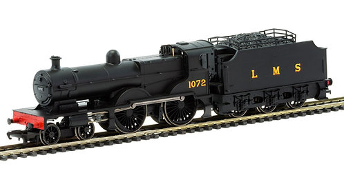 R3276 RailRoad, LMS, Class 4P Compound with Fowler Tender, 4-4-0, 1072 - Era 3