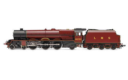 R3709 LMS, Princess Royal, 4-6-2, 6201 'Princess Elizabeth' - Era 3