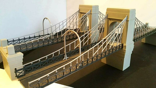 R264/R269 Tri-ang Hornby Vintage Victorian Grand Suspension Bridge OO Gauge 1:76