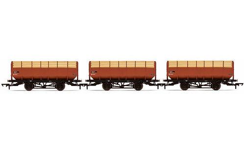 R6830 20T Coke Hopper Wagons, three pack, British Railways - Era 5/6