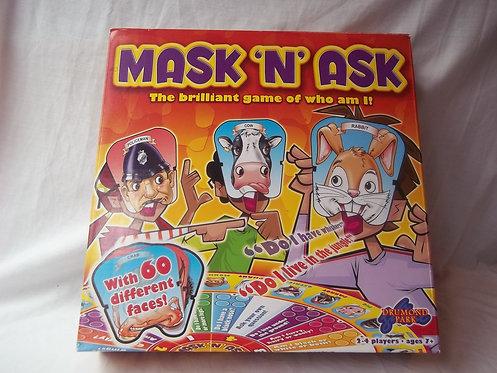 Mask 'N' Ask Board Game 2-4 Players Age 7+