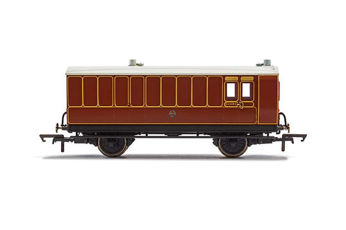 R40072 LB&SCR 4 Wheel Coach Brake Baggage 102 -Era 2