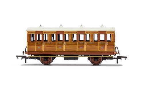 R40057 GNR 4 Wheel Coach 1st Class 1534 - Era 2