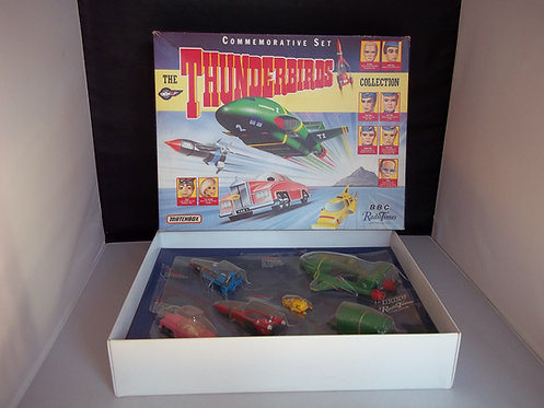 Vintage Commerative Set The THUNDERBIRDS Collection Matchbox Limited Edition