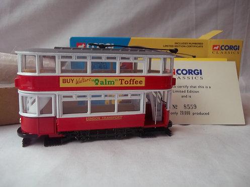 Corgi 40th Anniversary Fully Closed London Tram