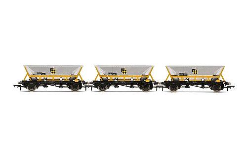 R60065 HAA Hopper Wagons Three Pack BR Coal Sector - Era 8