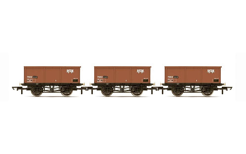 R6965  BR, 27T MSV Iron Ore Tipplers, three pack - Era 7