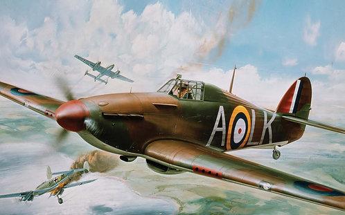 A14002V Hawker Hurricane Mk.1-1:24 Scale