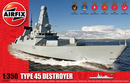 A12203 Type 45 Destroyer 1:350 Scale