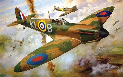 A12001V Supermarine Spitfire Mk1a-1:24 Scale