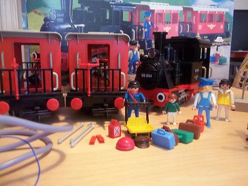 Playmobil Steam Loco & Passenger Set 4003 G Scale