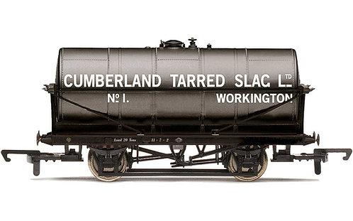 R60034 20T Tank Wagon Cumberland Tarred Slag - Era 2/3