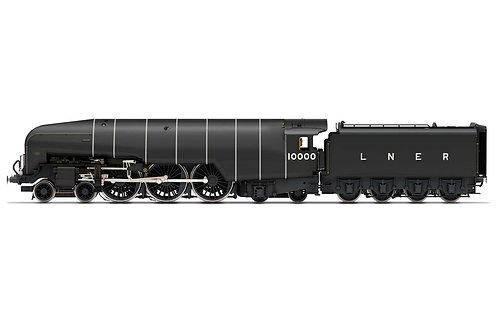 R3979 LNER Class W1 'Hush Hush' 1935 (Double Blast Pipe) 4-6-4 10000 - Era 3