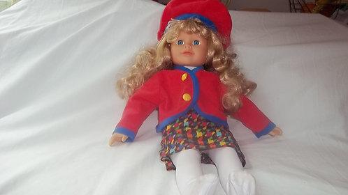 """18"""" High Soft Bodied Dressed Pretty Doll"""