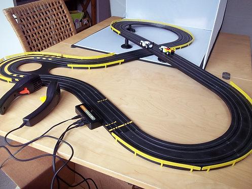 Micro Scalextric RARE Grand Prix Boxed A1 Team Great Britain v A1 Germany