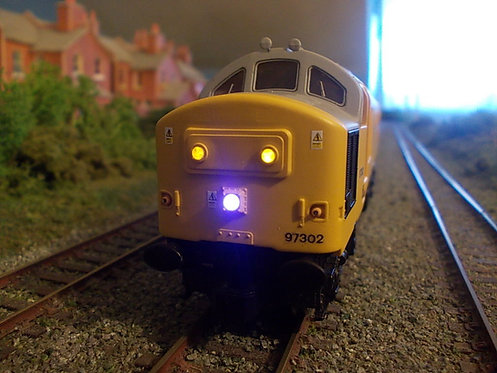 Hornby & Lima Class 37 / 40 Centre Plated Headcode with High Intensity Light Kit