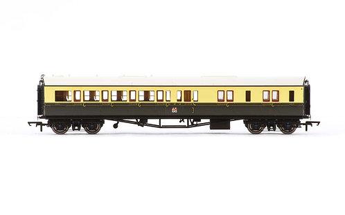 R4681A GWR Collett 'Bow Ended' Corridor Brake Third (L/H) 4942 - Era 3