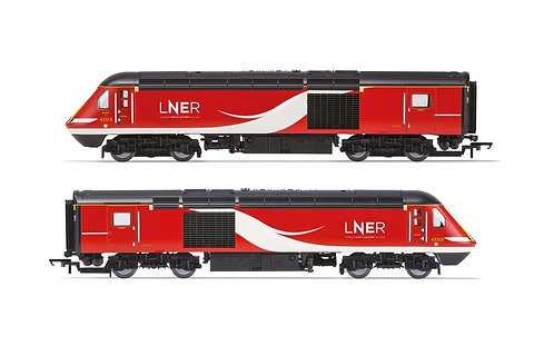 R 3802  LNER, Class 43 HST, Power Cars 43315 and 43309 - Era 11