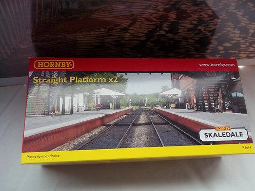 Hornby Skaledale Straight Platform X2 R8614 OOG