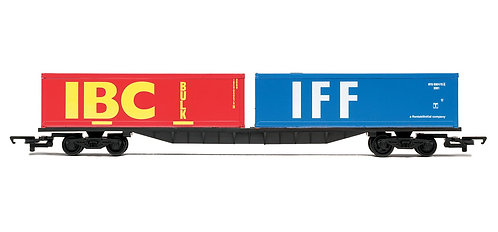 R6425 RailRoad Container Bogie Wagon with 2 x 30ft Containers