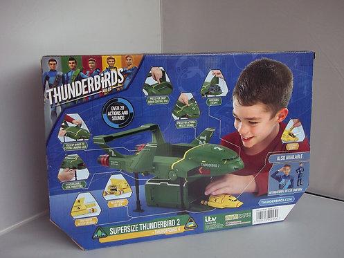 SUPERSIZE Thunderbirds 2 + 4 Interactive Playset