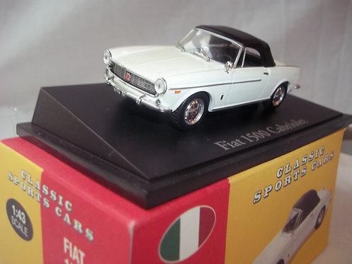 Atlas Edition Classic Sports Cars-Fiat 1500