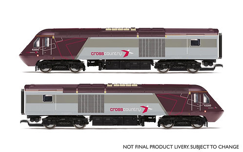 R3808 Cross Country, Class 43 HST, Power Cars 43357 and 43304 - Era 10