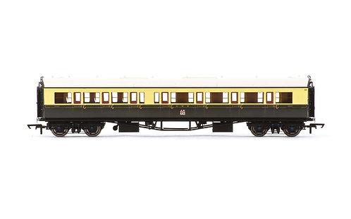 R4683A GWR Collett 'Bow Ended' Corridor Composite (R/H) 6527 - Era 3