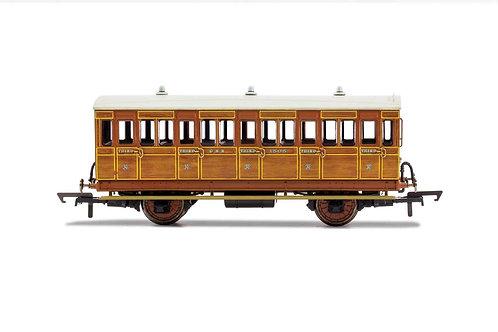R40058A GNR 4 Wheel Coach 3rd Class 1505 - Era 2