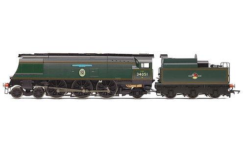 R3866 BR Battle of Britain Class 4-6-2 34051'Winston Churchill'- Era 11