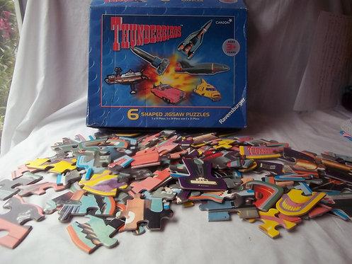 Rare Carlton Thunderbirds 6 x Jigsaw Puzzles