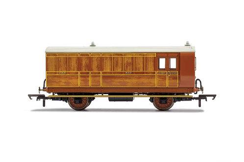 R40060 GNR 4 Wheel Coach Brake Baggage 836 - Era 2