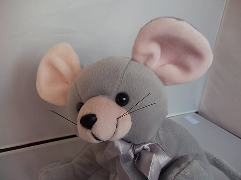 Soft Plush Cuddly Rare Vintage Mouse Toy By Ostoy Trading B.V. Collectable