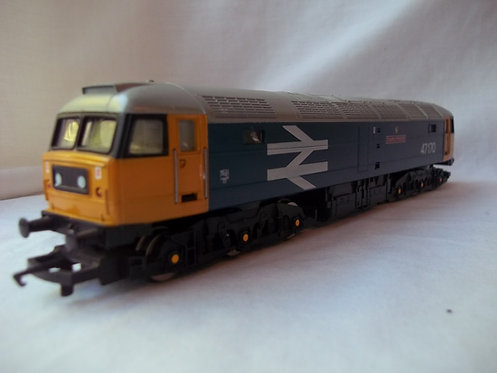 Hornby R307 Class 47 County Of Norfolk BR Blue