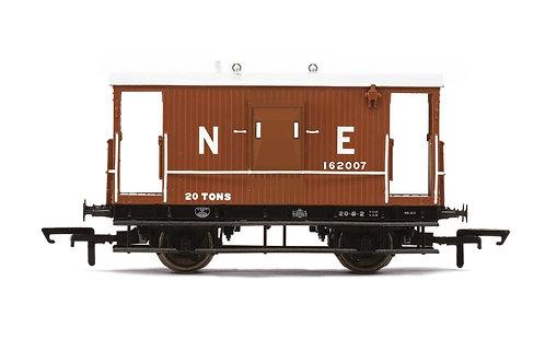 R6923  LNER, Dia.064 'Toad E' Brake Van, 162007 - Era 3