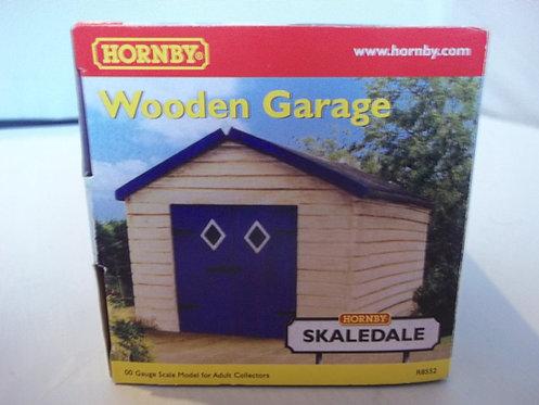 R8552 Hornby Skaledale 00  Wooden Garage